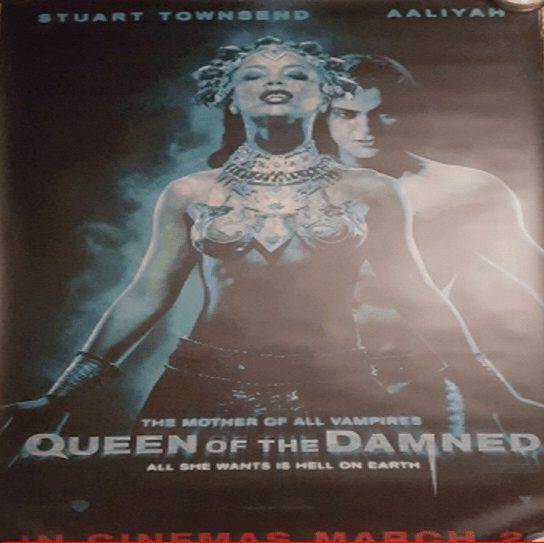 Rare Queen Of The Damned Movie Poster