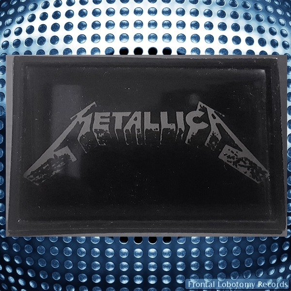 Metallica Brass Belt Buckle