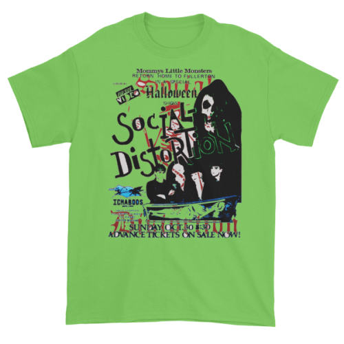 social-distortion-tee-green