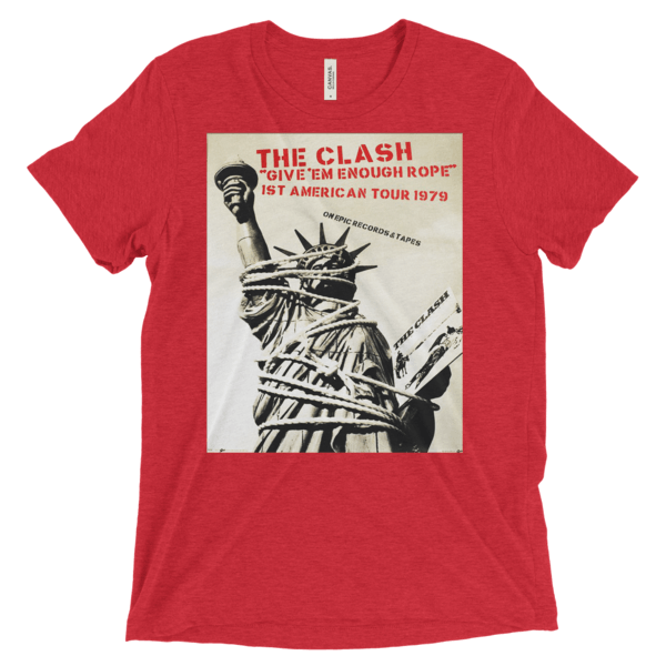 the-clash-tee--red