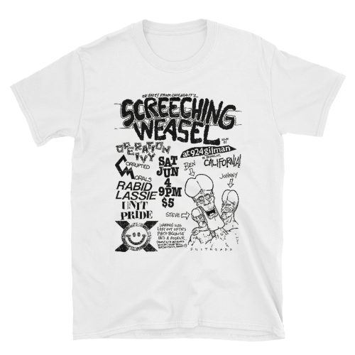screeching-weasel-white-tee