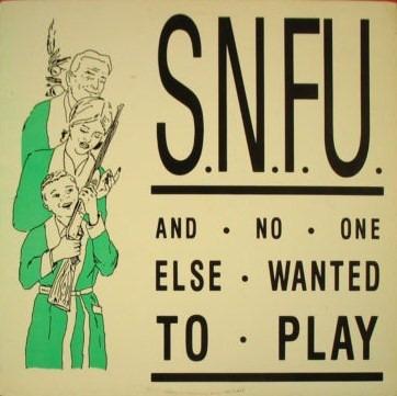 s.n.f.u. Home- Frontal Lobotomy Records