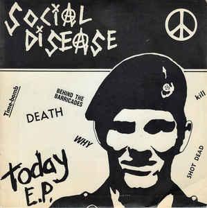 social-disease-today-e.p. Home- Frontal Lobotomy Records